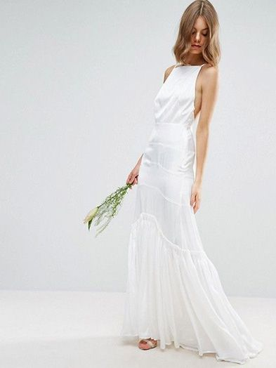 ASOS Bridal Cami Maxi Dress