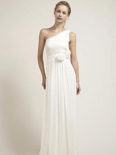 Saja Wedding One Shoulder Dress