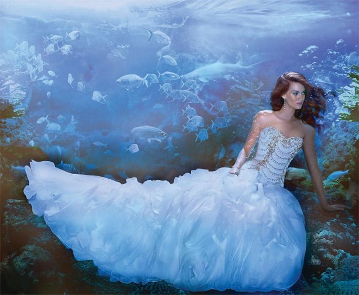 Disney vjenčanica - Ariel