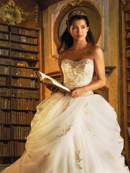 Disney vjenčanica - Bella
