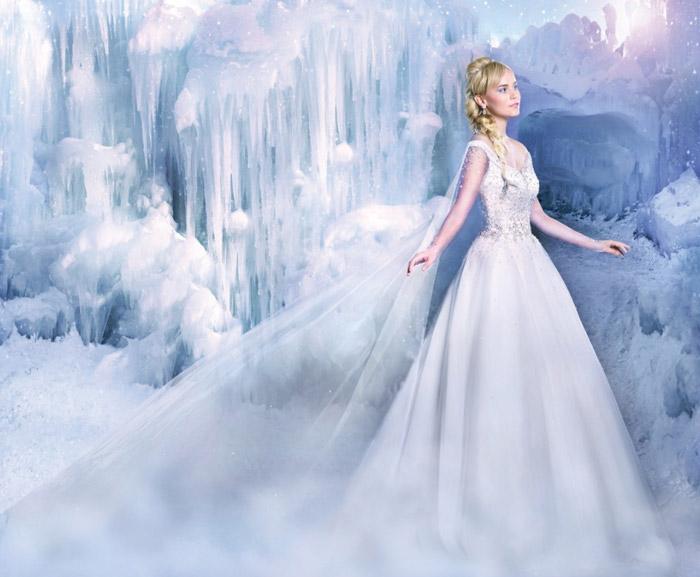 Disney vjenčanica - Elsa