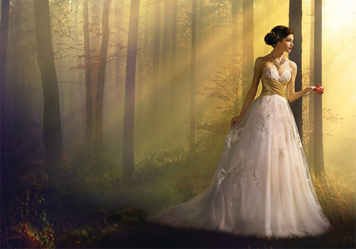 Disney vjenčanica - Snjeguljica