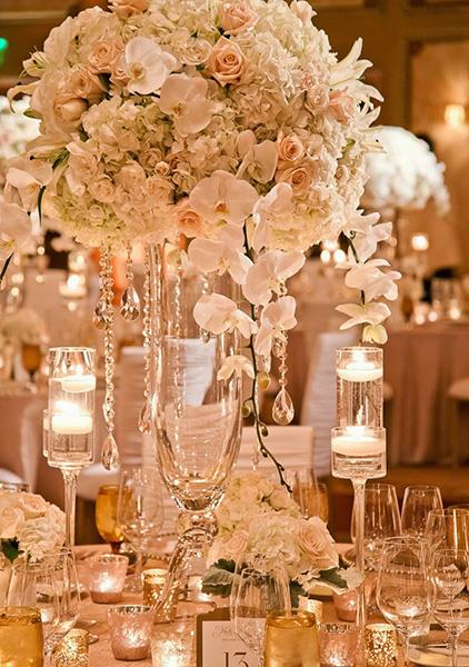 Cvjetni aran mani za stolove fotogalerije vjen anje for Table za stolove