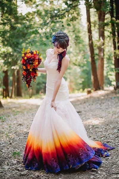 Obojaj svoju vjenčanicu