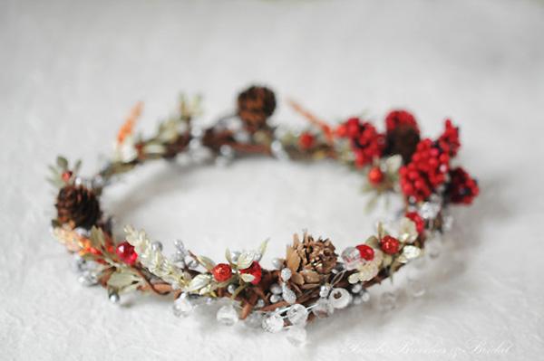 Princezina kruna od zimskog cvijeća