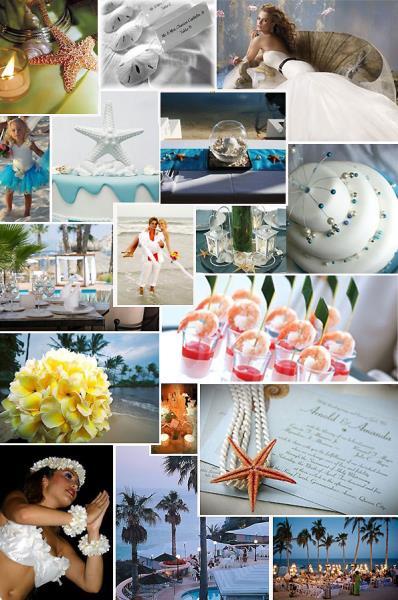 Boja na ljetnom vjenčanju i morski ugođaj