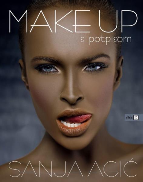 Knjiga Sanje Agić Make Up s Potpisom