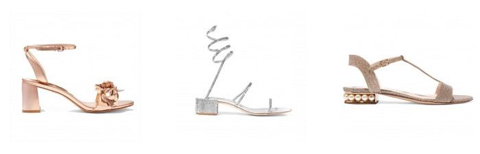 Cipele za vjenčanje sa remenom oko zgloba