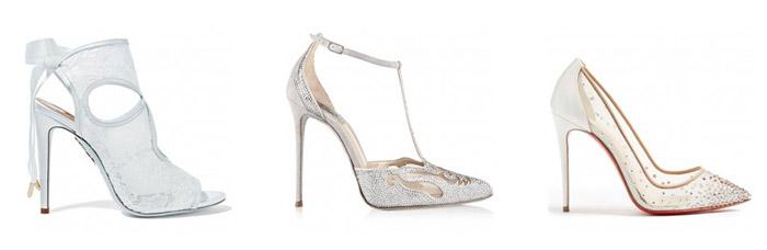 Ukrašene cipele za vjenčanje