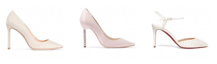 Cipele za vjenčanje zatvorenih prstiju