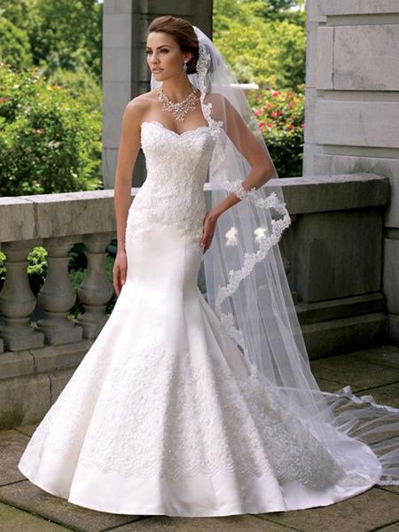 Veo za potpuni vjenčani look