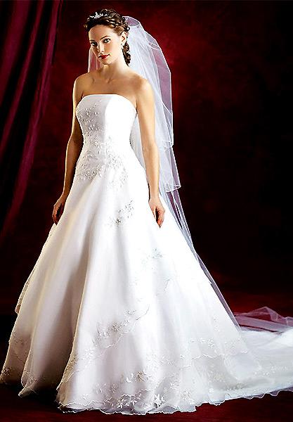 Vjenčanica za niže i punije žene