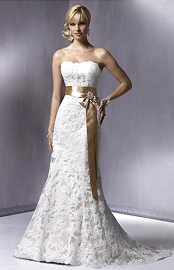 Vjenčanica za niže i vitke žene