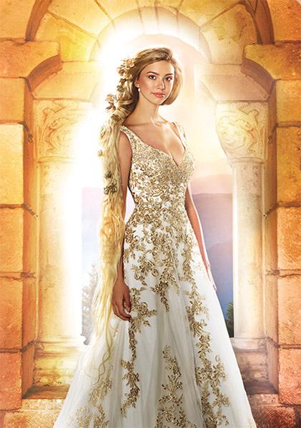 Disney vjenčanica - Zlatokosa