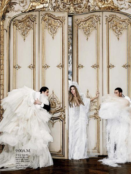 Karl Lagerfeld vjenčanice Giselle Blundchen