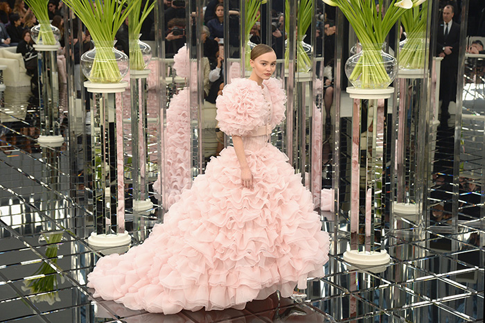 Karl Lagerfeld vjenčanice Lilly Rose Depp