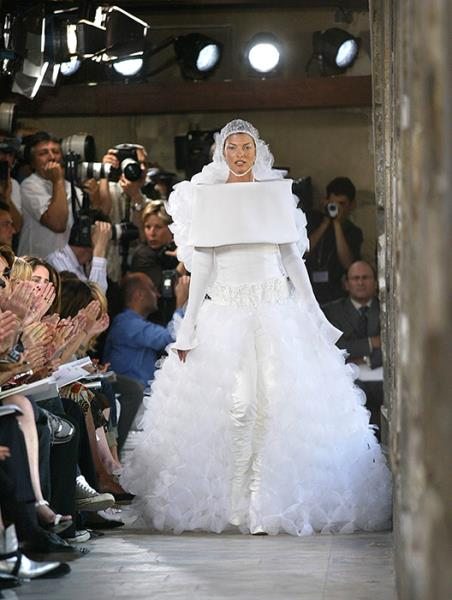 Karl Lagerfeld vjenčanice Linda Evengelista