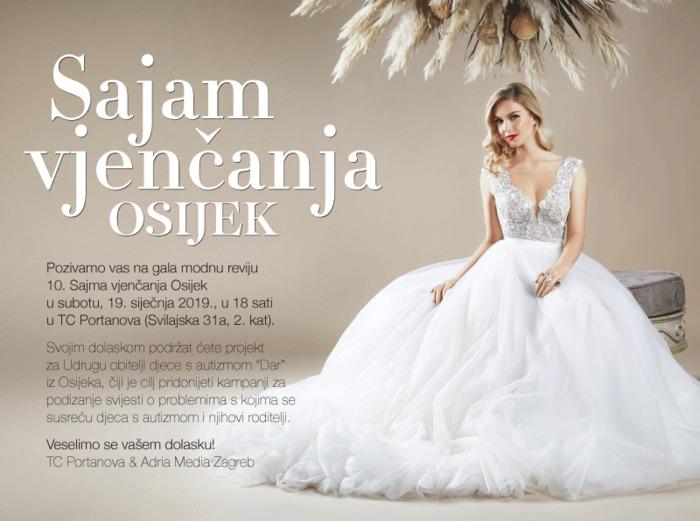 Sajam vjenčanja Osijek 2019