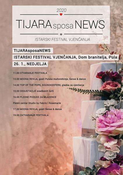 Istarski Festival Vjenčanja TIJARAsposaNEWS nedjelja