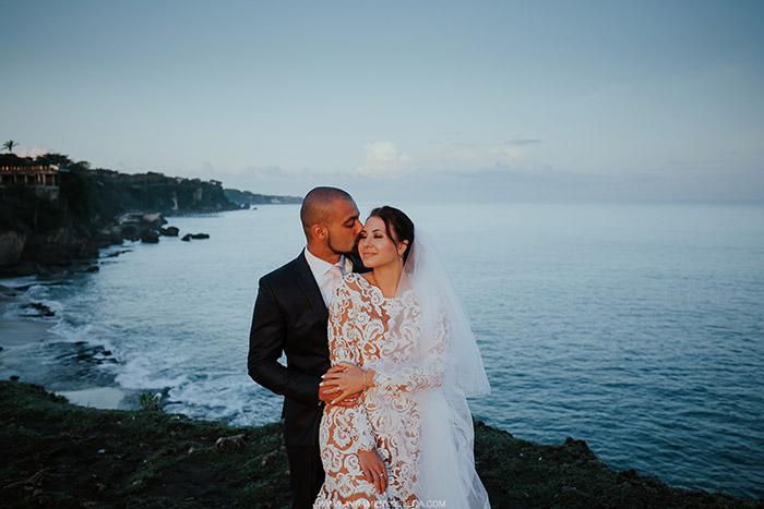 Vjenčanje na Baliju Tatiane i Amira