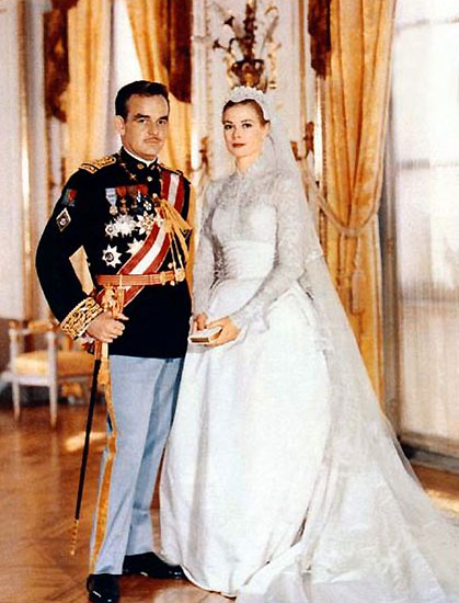 Grace Kelly i princ Rainier od Monaka