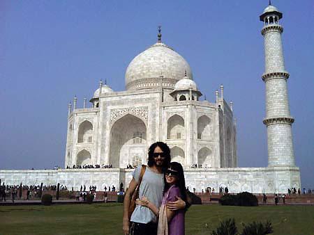 Katy Perry i Russell Brand u Indiji