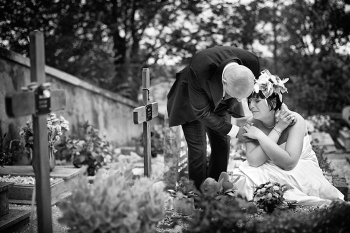 Najbolja fotografija vjenčanja 2015. iz kategorije Emotivan trenutak
