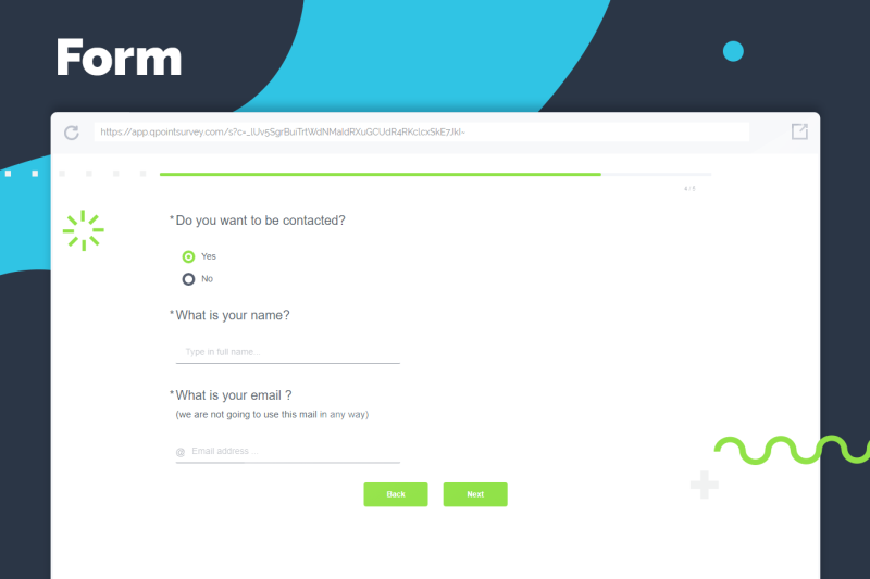 Create beautiful forms with QPoint